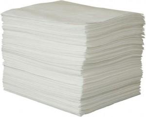 manta absorvente de óleo linha branca