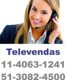 Televendas 11-4063-1241   51-3082-4500